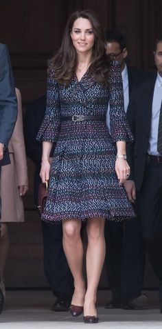 Slide 7 of 66: PARIS, FRANCE - MARCH 18: Catherine, Duchess of Cambridge visits the Invalides on March 18, 2017 in Paris, France. The Duke and Duchess are on a two day tour of France. (Photo by Samir Hussein/Samir Hussein/WireImage)