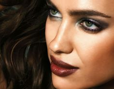 Irina Shayk shows off AW2013 make up trends for Avon