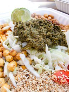Burmese tea leaf salad