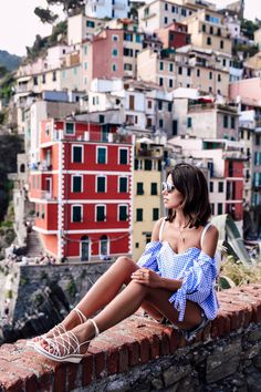 VivaLuxury - Fashion Blog by Annabelle Fleur: THE COLORS OF RIOMAGGIORE