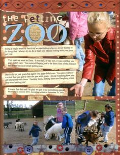 The petting Zoo - Scrapbook.com