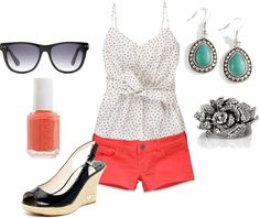 Summer Fun, created by amoyer on Polyvore