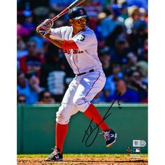 "Xander Bogaerts Boston Red Sox Fanatics Authentic Autographed 8"" x 10"" Vertical Hitting Photograph - $89.99"