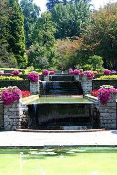 Villa Taranto Terraced Gardens, Pallanza, Piedmont, Italy