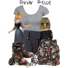 """Briar Rose - Spring / Summer - Disney's Sleeping Beauty"" by rubytyra on Polyvore"
