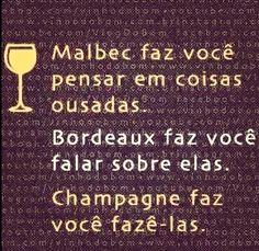 É por isso que adoro Champagne! Hehehe