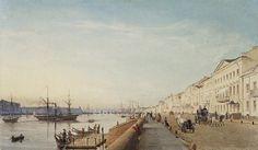 German Painter Eduard Gaertner (1801-1877)