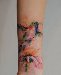 chinese watercolor tattoo - Google Search