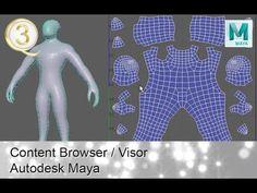 Maya 2018 uv mapping unwrap -  Introduction for uv in maya - YouTube
