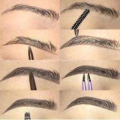 Make Up; Make Up Looks; Make Up Augen; Make Up Prom;Make Up Face; Makeup Steps Source by Heavy Makeup, Dark Makeup, Makeup Light, Eyebrow Makeup Tips, Makeup Steps, Lip Makeup, Eyebrow Pencil, Makeup Tricks, Makeup Mascara