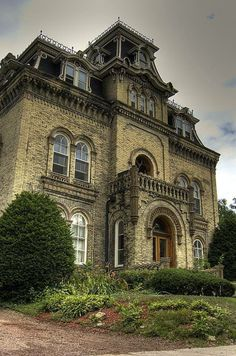 Cool Victorian House.