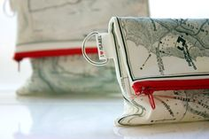Gray and red by maya ben cohen on Etsy