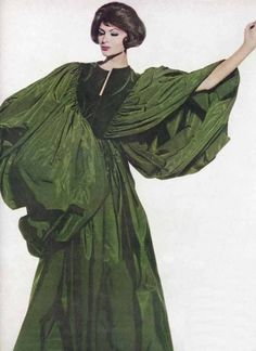 - vogue; c. 1959-60 / ensemble: madame gres / photographer: irving penn.