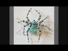 Beautiful Spiders - Handcrafted with Beads and Crystals from Portia's Crafts - YouTube