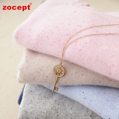 zocept 17 Autumn Winter Pure Cashmere O-Neck Pullovers Women Color Cashmere Yarn Knitted Casual Sweater High-Quality Clothing