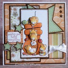 A Scrapjourney: Penny Black - absolutely loving the layers! Penny Black Karten, Penny Black Cards, Penny Black Stamps, 3d Cards, Cute Cards, Scrapbooking, Scrapbook Cards, Friendship Cards, Marianne Design