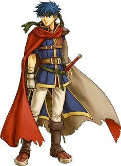 Another Ike from fire emblem: Path of radiance.  Another good official artwork!