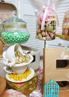 Vintage / Retro Baby Shower Party Ideas | Photo 8 of 16 | Catch My Party