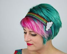 http://www.janinebasil.com/collections/all-headbands/products/rainbow-rhinestone-headband by JanineBasil