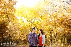 Outdoor Engagements | Utah Wedding Photographer | Amanda Abel Photography | www.amandaabelphoto.com #engagementphotography