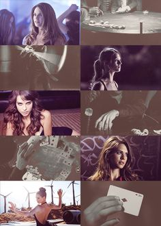 "Marvel genderswap ▶ Lyndsy Fonseca as Gambit    ""If I learnt anything about life, it's this: always play the hand you're dealt. My name is Gambit… and I play for keeps."""