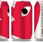 """""""Ahsley Shen created designs for a limited edition collaboration between Coca-Cola and PLAY COMME des GARCONS. Presented are three designs, that package the classic Coke can in the PLAY design. Coca Cola Can, Always Coca Cola, Pepsi, Brand Packaging, Packaging Design, Smart Packaging, Beverage Packaging, Product Packaging, Branding"""