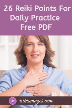 One should practice 26 Reiki Points as a beginner, here is a PDF of all Reiki Points. Learn how to activate Reiki with a prayer and how to incorporate Reiki in your daily life. Kundalini Reiki, Le Reiki, Reiki Healer, Reiki Meditation, Meditation Music, Reiki Chakra, Chakra Crystals, Self Treatment, Health And Wellness
