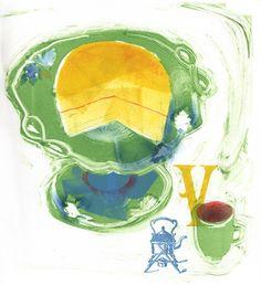 V is for Victoria Sponge, Chloe Cheese