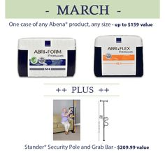 The CareGiver Partnership: Win a FREE Stander Security Product and Case of Abena Aging In Place, Grab Bars, Cool Tools, Caregiver, Own Home, Giveaways, Free, Products, Cool Gadgets