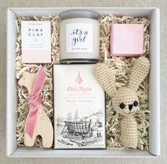 Baby girl gift for a new mom or for a baby shower by Teak & Twine
