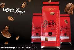 We offer excellent quality and durable Coffee Bags with several features so that they preserve the essential qualities of the coffee for prolonged period of time. http://www.coffeebags.co.za/coffee-bags/
