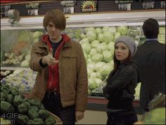 Not Cool Scott (Shane Dawson) & Tori (Cherami Leigh). One of the thin - Cashier Humor - Cashier Humor meme - - The post Not Cool Scott (Shane Dawson) & Tori (Cherami Leigh). One of the thin appeared first on Gag Dad. Super Funny, Really Funny, Funny Cute, The Funny, Haha, Whatsapp Videos, Have A Laugh, Laughing So Hard, Just For Laughs