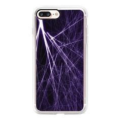 Purple Strike - iPhone 7 Case, iPhone 7 Plus Case, iPhone 7 Cover,... (53 AUD) ❤ liked on Polyvore featuring accessories, tech accessories, iphone case, apple iphone case, purple iphone case, iphone cover case and iphone cases