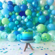Smash Cake - Joeys first bday ! Baby Cake Smash, 1st Birthday Cake Smash, 1st Boy Birthday, Boy Birthday Parties, Birthday Party Decorations, Half Birthday, 1st Birthday Photoshoot, Cake Smash Photos, 1st Birthdays