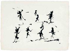 Henri michaux, sans titre, 1962 encre de chine sur papier japon, 52 x 67,5 cm