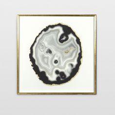 Match to other geode art piece Ginger Bath, Art Pieces, Decorative Plates, Lion Sculpture, Framed Prints, Wall Art, Artwork, Lisa, Living Room