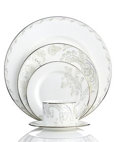 Marchesa by Lenox Dinnerware, Paisley Bloom 5 Piece Place Setting - Lenox - Dining & Entertaining - Macy's