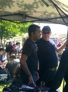 Suresh and Sid of Ontario Food trucks