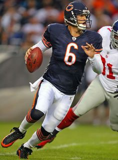 Jay Cutler (b.1983)... an American football quarterback for the Chicago Bears of the NFL.  He played football at Vanderbilt University, and began his professional football career with the Denver Broncos.  He has Type 1 Diabetes Mellitus.