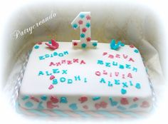 Patry's Cake:   NCT Group 1st Birthday cake