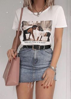 Confianza y poder outfit inspo para chicas Escorpio – Stylish summer outfits Stylish Summer Outfits, Cute Casual Outfits, Spring Outfits, Fashionable Outfits, Stylish Girl, Stylish Dresses, Mode Outfits, Fashion Outfits, Woman Outfits