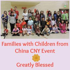 Greatly Blessed: Families with Children from China CNY event #CNY #YearoftheHorse #FCC