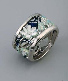 Ilgiz Fazulzyanov (Ильгиз Фазулзянов) Modern art nouveau ring