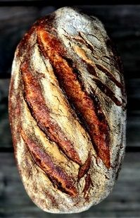 Durum wheat bread