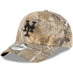 a852191d8 Men's New York Mets New Era Camo Realtree 49FORTY Fitted Hat, Your Price:  $27.99