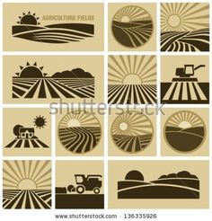 Agriculture field by VoodooDot, via Shutterstock