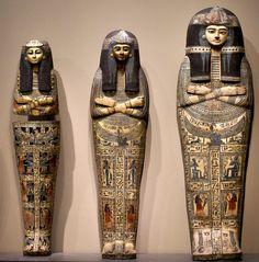 Sarcophagi of the Amun Priestess Takait, Egypt, 13th century A.C.
