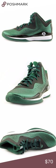 Adidas D Rose 773-III 3-Basketball-Shoe Adidas D. Rose 773 III basketball shoes, which is the signature shoe of NBA star Derrick Rose.  These shoes are in the Forest-Green/Black/White colorway. These shoes are in new condition. Does not include original box adidas Shoes Athletic Shoes
