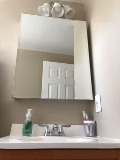 Home Projects, Bathroom Medicine Cabinet, House Projects