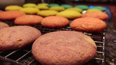 Lemon Rainbow Sugar Cookies.